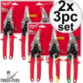 Milwaukee 48-22-4533 3 PC Aviation Snip Set 2x