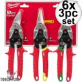 Milwaukee 48-22-4533 3 PC Aviation Snip Set 6x
