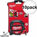 Milwaukee 48-22-5117 16' Tape Measure 10x