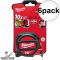 Milwaukee 48-22-5117 16'  TAPE MEASURE 6x