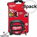 Milwaukee 48-22-5117 16'  TAPE MEASURE 8x