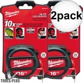 Milwaukee 48-22-5117 16' Tape Measure 2x