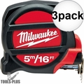 Milwaukee 48-22-5217 16'/5m Tape Measure 3x