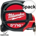 Milwaukee 48-22-5217 16'/5m Tape Measure 5x