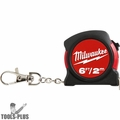 Milwaukee 48-22-5506 Milwaukee 6ft / 2m Keychain Tape Measure