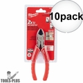 "Milwaukee 48-22-6106 6"" Diagonal Cutting Pliers 10x"