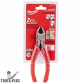 "Milwaukee 48-22-6106 6"" Diagonal Cutting Pliers"