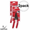 Milwaukee 48-22-6109 General Purpose Wire Stripper Pliers 2x