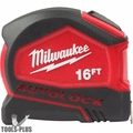 Milwaukee 48-22-6816 16' Compact Auto Lock Tape