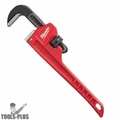 "Milwaukee 48-22-7110 10"" Steel Pipe Wrench with 1.5"" Jaw Capacity"