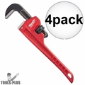"Milwaukee 48-22-7110 10"" Steel Pipe Wrench 4x"