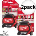 Milwaukee 48-22-7135-2 35' Magnetic Tape Measure 2x
