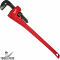 "Milwaukee 48-22-7160 60"" Steel Pipe Wrench with 8"" Jaw Capacity"