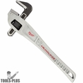 "Milwaukee 48-22-7185 18"" Aluminum Offset Pipe Wrench, with 2"" Jaw Capacity"