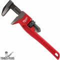 "Milwaukee 48-22-7186 12"" Smooth Jaw Pipe Wrench, with 2-5/8"" Jaw Capacity"