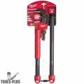Milwaukee 48-22-7314 Adaptable Cheater Pipe Wrench 2x