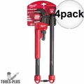 Milwaukee 48-22-7314 Adaptable Cheater Pipe Wrench 4x