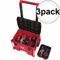 Milwaukee 48-22-8426 PACKOUT Rolling Tool Box 3x