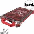Milwaukee 48-22-8436 PACKOUT Compact Low-Profile Organizer 3x