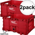 Milwaukee 48-22-8440 2x PACKOUT Crate