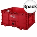 Milwaukee 48-22-8440 3x PACKOUT Crate