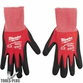 Milwaukee 48-22-8901 Cut Level 1 Dipped Word Gloves - Medium
