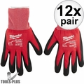 Milwaukee 48-22-8902 12x Cut Level 1 Dipped Word Gloves - Large