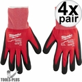 Milwaukee 48-22-8902 Pair Cut Level 1 Dipped Word Gloves - Large 4x