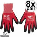 Milwaukee 48-22-8902 Pair Cut Level 1 Dipped Word Gloves - Large 8x