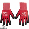 Milwaukee 48-22-8902 Cut Level 1 Dipped Word Gloves - Large