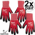 Milwaukee 48-22-8903 Pair Cut Level 1 Dipped Gloves - X Large 2x