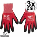 Milwaukee 48-22-8903 Pair Cut Level 1 Dipped Gloves - X Large 3x