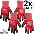 Milwaukee 48-22-8904 Pair Cut Level 1 Dipped Word Gloves - 2X-Large 2x