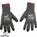 Milwaukee 48-22-8953 Cut Level 5 Dipped Glove X-Large BEST Oyster Clam Glove