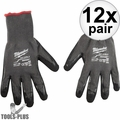 Milwaukee 48-22-8953B Cut Level 5 Dipped Glove XLarge BEST Oyster Clam Glove