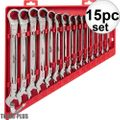 Milwaukee 48-22-9416 15pc Ratcheting Combination Wrench Set - SAE