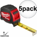 Milwaukee 48-22-9916 16' STUD Tape Measure 5x