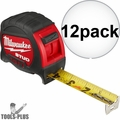 Milwaukee 48-22-9925 25' STUD Tape Measure 12x