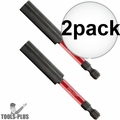 "Milwaukee 48-32-4503 Shockwave Impact Duty 3"" Compact Bit Holder 2x"