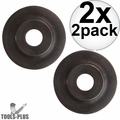 Milwaukee 48-38-0010 2pk Cutter Wheels for 2471-20, -21, 22, 82 2x
