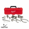 "Milwaukee 48-53-2840 Head Attachment Kit For 5/8"" & 3/4"" Drum Cable"
