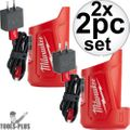Milwaukee 48-59-1201 M12TM Compact Charger and Power Source 2x