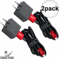 Milwaukee 48-59-1202 3ft Micro-USB Cable and 2.1A Wall Charger 2x