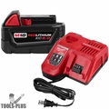 Milwaukee 48-59-1850R M18 REDLITHIUM XC5.0 System Starter Kit