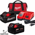 Milwaukee 48-59-1880RC M18 REDLITHIUM HIGH OUTPUT XC8.0/6.0 Starter Kit