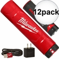 Milwaukee 48-59-2003 12x REDLITHIUM USB Battery & Charger Kit