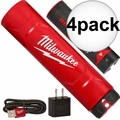 Milwaukee 48-59-2003 4x REDLITHIUM USB Battery & Charger Kit