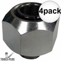 "Milwaukee 48-66-1020 1/2"" Router Collet and Locking Nut 4x"