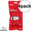 Milwaukee 48-73-2001 Clear Safety Glasses (Polybag) 4x