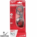 Milwaukee 48-73-2040 Clear Performance Safety Glasses w/ Gasket